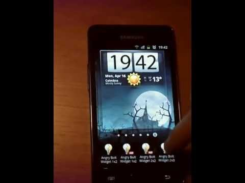 Video of Angry Bolt Widget