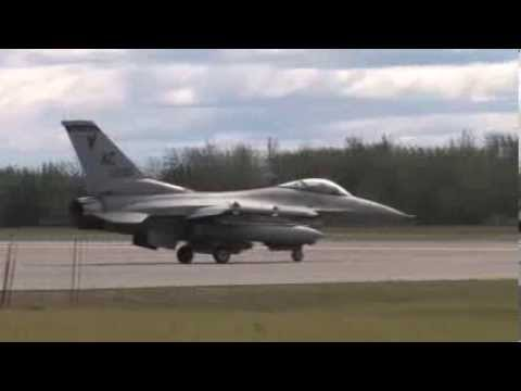 HD Video.  F-16 Fighting Falcon...