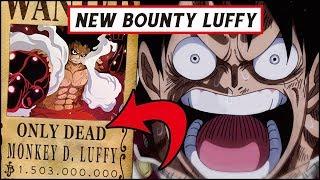 "Download Video Nilai Bounty ""TERBARU"" Luffy setelah Arc Whole Cake Island ( One Piece ) MP3 3GP MP4"