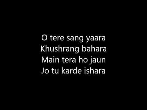 Video Tere Sang Yaara Rustom Official Karaoke Lyrics Akshay Kumar Ileana D'cruz Atif Aslam download in MP3, 3GP, MP4, WEBM, AVI, FLV January 2017