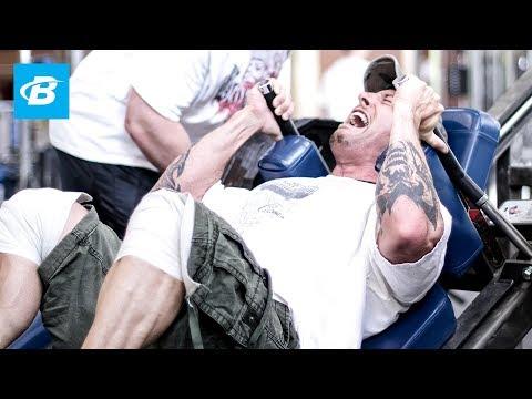 Dorian Yates:Sange si Tupeu(Partea I)-Picioare