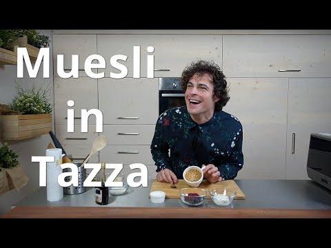 Muesli in Tazza - CUCINA PER PIGRI - Guglielmo Scilla | Cucina da Uomini