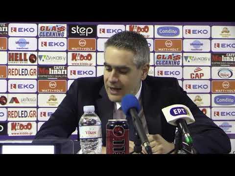 "Video - Καστρίτης: ""Παρά τις απώλειες, δώσαμε το 100%"" (vid)"