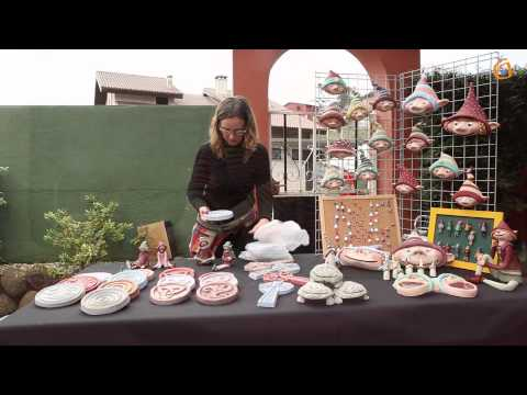 Feria de artesanía en el bar Fontán.