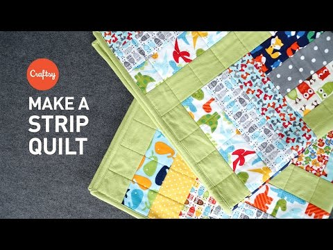 , title : 'Strip quilt project (quick & easy!) | Quilting Tutorial with Angela Walters'
