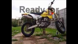 9. Suzuki DRZ 400 engine mount