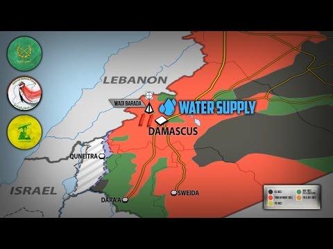 5 января 2017. Военная обстановка в Сирии. Битва за воду для Дамаска. Русский перевод. (видео)