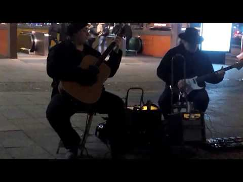 Street Music Berlin No1 am ICC Januar 2018