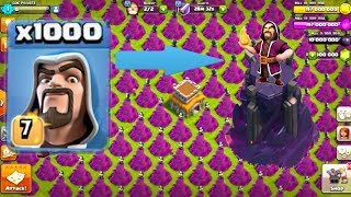 Video 1000 Wizard Tower VS 1000 Wizard Amayzing Attack | COC Mod Version MP3, 3GP, MP4, WEBM, AVI, FLV Agustus 2017