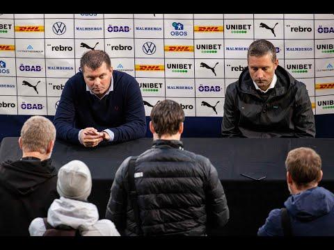 Presskonferens: ÖSK – IFK Norrköping