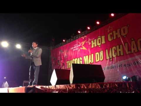 Chiến Thắng diễn hài tại Lào Cai
