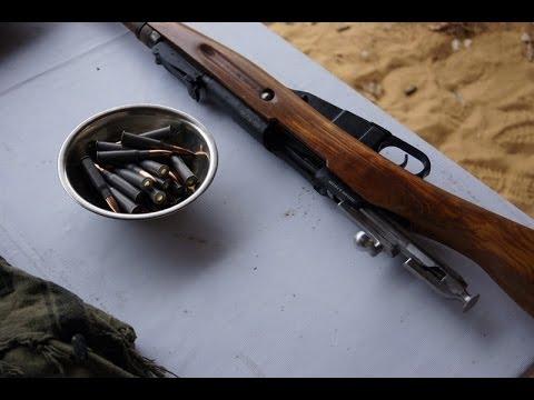 Винтовка Мосина против винтовки Маузера. 10 выстрелов на скорость.