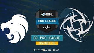 North vs NiP - ESL Pro League S8 EU - bo1 - de_nuke [CrystalMay, Smile]