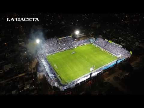 Mirá desde un drone el recibimiento de la hinchada de Atlético ante Palmeiras - La Inimitable - Atlético Tucumán