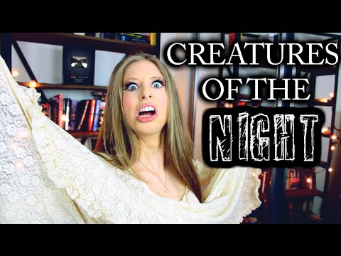 book - In the spirit of Halloween reads - let's talk about our favorite CREATURES OF THE NIGHT in books! Thanks for watching!! Book lover SHIRTS & SWEATSHIRTS: http://thepolandbananasshop.com ...