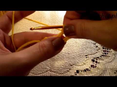 Jak robić słupki na szydełku - podstawy szydełkowania