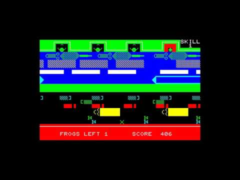 Frogger (Solo Software) for the Sharp MZ-700