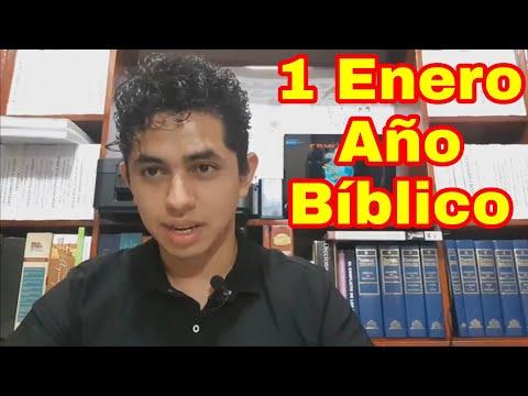 GENESIS 1 y 2 AÑO BÍBLICO  (Nelson Berrú) 1 De Enero