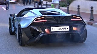 BEST of Top Marques Monaco 2018! - Burnouts, Police, Tuned Cars, Crazy Situations & More!