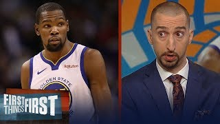 Nick Wright: New York is the place KD is 'planning to build his empire' | NBA | FIRST THINGS FIRST