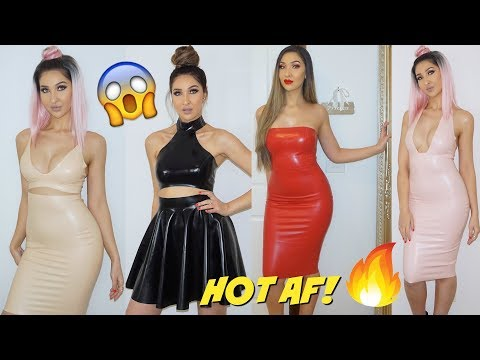 $800 REAL LATEX TRY ON CLOTHING HAUL || WILLIAM WILDE