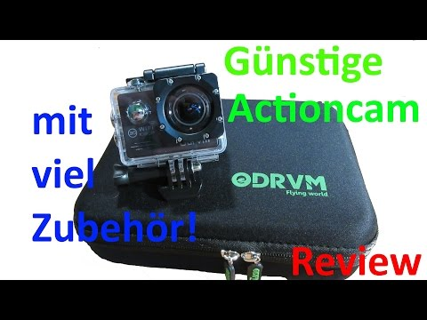 GUTE und GÜNSTIGE Alternative zur teuren ACTIONCAM? | Review+Test deutsch
