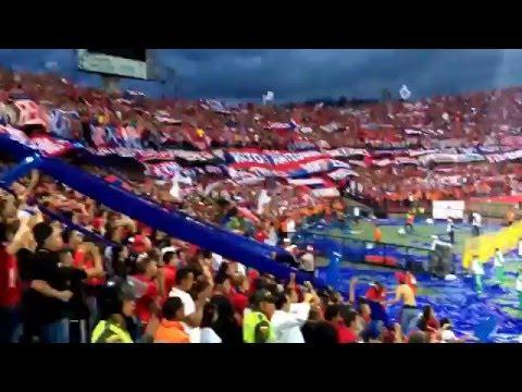 Nacional (1) vs Medellin (2) - Liga Aguila 2016 - Rexixtenxia Norte - Rexixtenxia Norte - Independiente Medellín