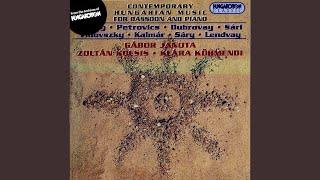 Three Movements for Bassoon and Piano - II. Lento, libero