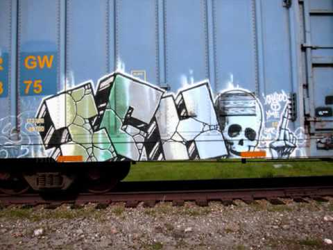 dcoat - just a very small collection of his work, this guy literally has thousands of trains runnin! song is by atmosphere, Guns and Cigarettes sorry for the long wa...