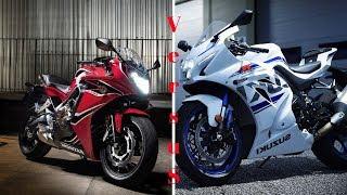 5. AMAZING!!! 2018 Kawasaki Ninja® ZX™ 6R VS 2018 Honda CBR650F ABS