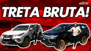 Desafio SUVs casca-grossa! Novo Mitsubishi Pajero Sport encara o Toyota SW4 Diamond - Especial #240