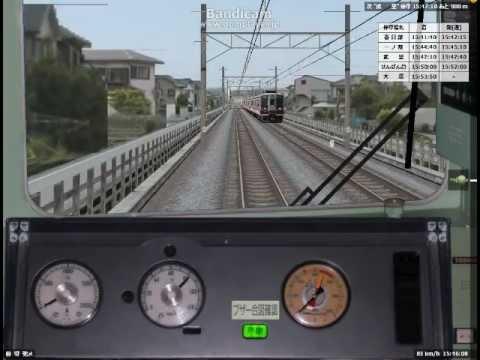 【FHD】BVE5 上越国境を東急9000系で運転してみた 空転がヤバイ
