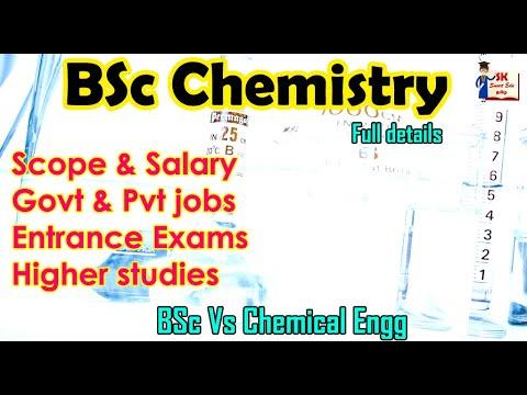 BSc Chemistry Scope & Salary in Tamil | Govt & Pvt job opportunities | BSc chemistry jobs in Tamil