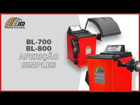 BL 700 e BL 800 - Aferição Simples