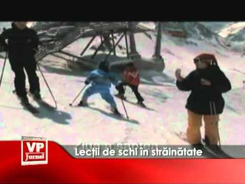 Lecţii de schi în străinătate