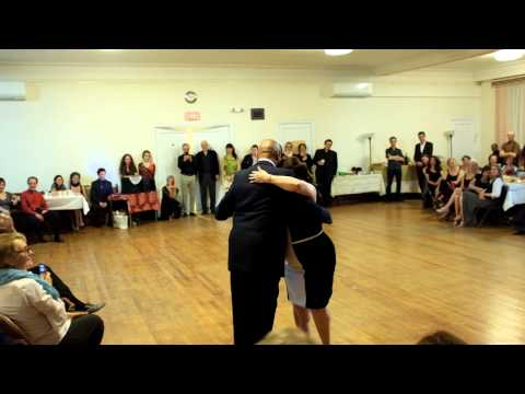 Argentine Tango: Alicia Cruzado Birthday Dance