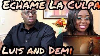 Luis Fonsi, Demi Lovato - Échame La Culpa | Couple Reacts