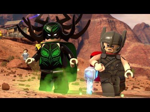 LEGO Marvel Super Heroes 2 - Hela Boss Fight Unlock & Free Roam (Thor Vs. Hela)
