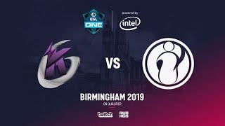 Keen Gaming vs IG, ESL Birmingam CN Quals, bo3, game 1 [Lost & Adekvat]