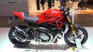 10. 2018 Ducati Monster 1200 S - Walkaround - 2017 EICMA Milan Motorcycle Exhibition