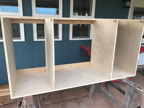Making Kitchen Cabinets Part 1 - Carcass