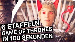 Jon Schnee, die Nachtwache, die große Schlacht. Sansa Stark und Kleinfinger. Cersei auf dem Thron! Und Daenerys unterwegs. Die sechste Staffel ist schon so lang her. Zeit für eine Zusammenfassung to go: Alle 6 Staffeln Game of Thrones in 100 Sekunden.WITH ENGLISH SUBTITLES!Jon Snow, the Night Watch, the battle for Winterfell. Sansa Stark and Littlefinger. Cersei on the Iron Throne! And Daenerys on her way. The sixth season is so far away! It's time for a recap to go: Six seasons Game of Thrones in 100 seconds.– PULS auf Facebook: http://www.facebook.com/PULSPULS auf Twitter: http://www.twitter.com/puls_brPULS auf Instagram: http://www.instagram.com/deinpulsPULS auf Snapchat: http://snapchat.com/add/puls_br