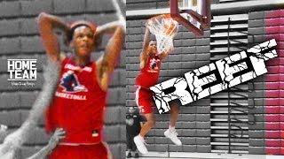 Shareef O'Neal dunking like his dad in today's games. Happy Fathers Day.