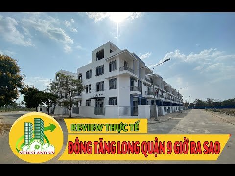 Review thực tế khu đô thị Đông Tăng Long Quận 9- Phân khu An Lộc