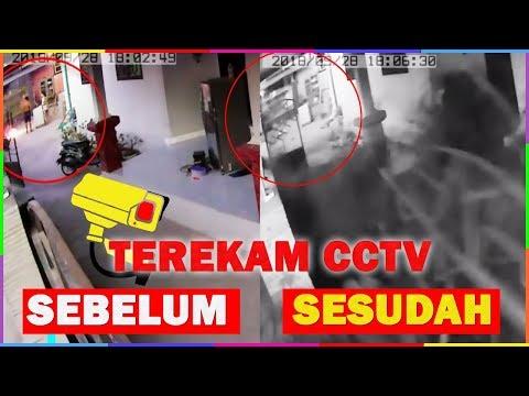 REKAMAN CCTV INI MEMBUKTIKAN DASYATNYA GEMPA & STUNAMI DI PALU