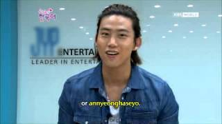 Download Lagu [KBS Kakao] 121115 Learn Korean with 2PM Taecyeon Mp3