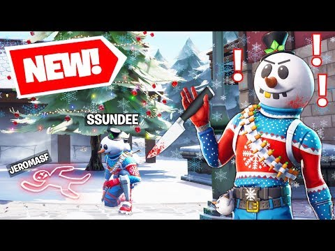 New MURDER MYSTERY Gamemode W/SSundee & Friends In Fortnite Battle Royale