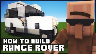 Minecraft Vehicle Tutorial - How to Build : Range Rover