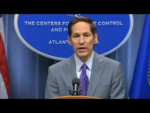 be - The CDC confirmed the first U.S. case of Ebola in Texas on Tuesday. During a press briefing, Director Tom Frieden said he has