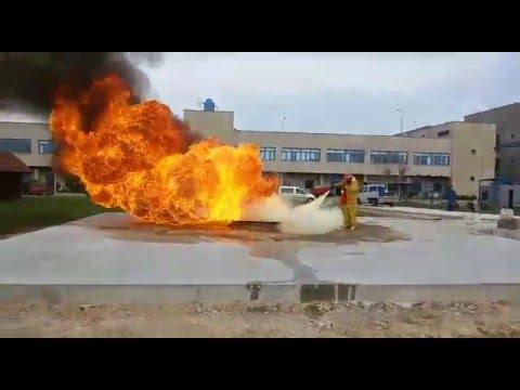 ALSE ABC FIRE POWDER 23.03.2016 TS EN 615 113 B YANGIN TATBİKAT